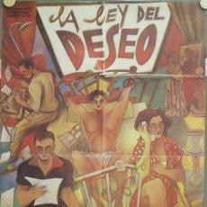 Cine: NO26 PEDRO ALMODOVAR COLECCION DE 6 POSTERS ORIGINALES ESPAÑOLES 70X100. Lote 24589317