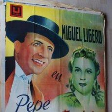 Cine: PEPE CONDE. AÑO 1941. LITOGRAFIA ESTRENO. MIGUEL LIJERO. Lote 24629759