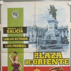 Cine: NP74 PLAZA DE ORIENTE MARIA LUZ GALICIA MADRID JANO POSTER ORIGINAL 70X100 ESTRENO. Lote 24660919