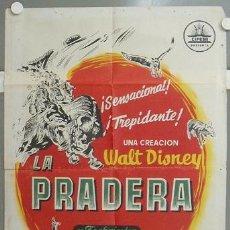 Cine: NP87 LA PRADERA WALT DISNEY POSTER ORIGINAL 70X100 DEL ESTRENO LITOGRAFIA. Lote 24662309