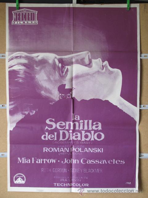 LA SEMILLA DEL DIABLO (Cine - Posters y Carteles - Terror)