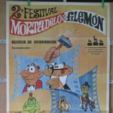 Cinema: 2º FESTIVAL DE MORTADELO Y FILEMON. Lote 47986462