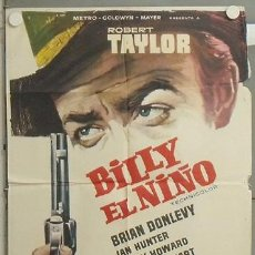 Cine: NQ37 BILLY EL NIÑO ROBERT TAYLOR POSTER ORIGINAL 70X100 ESTRENO. Lote 24916257