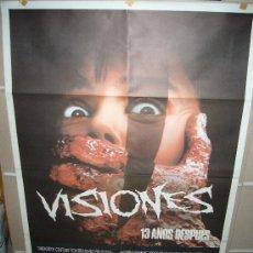 Cine: VISIONES POSTER ORIGINAL 70X100 Q. Lote 24846959