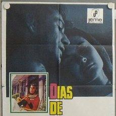 Cine: NQ51 DIAS DE VIEJO COLOR PEDRO OLEA POSTER ORIGINAL 70X100 ESTRENO. Lote 24918455