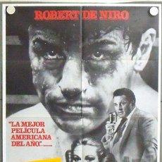 Cine: NQ73 TORO SALVAJE ROBERT DE NIRO MARTIN SCORSESE BOXEO POSTER ORIGINAL ESTRENO 70X100. Lote 24953170