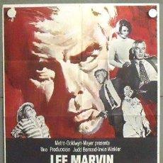 Cine: NQ85 A QUEMARROPA LEE MARVIN POSTER ORIGINAL ESTRENO 70X100. Lote 24956975