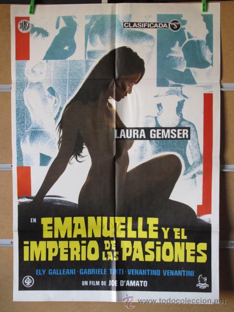 EMANUELLE Y EL IMPERIO DE LAS PASIONES (Cine - Posters y Carteles - Aventura)