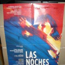 Cine: LAS NOCHES SALVAJES POSTER ORIGINAL 70X100 Q. Lote 25644487