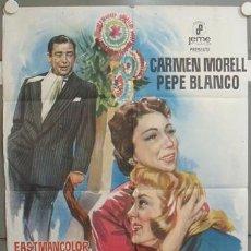 Cine: NR58 MARAVILLA PEPE BLANCO CARMEN MORELL POSTER ORIGINAL 70X100 ESPAÑOL. Lote 25090142