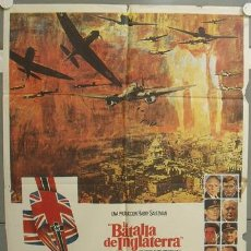 Cinéma: NR81 LA BATALLA DE INGLATERRA MICHAEL CAINE LAURENCE OLIVIER POSTER ORIGINAL 70X100 ESTRENO. Lote 25091489