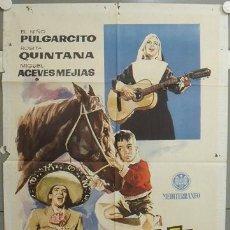 Cine: NR99 MI NIÑO Y YO ROSITA QUINTANA PULGARCITO MIGUEL ACEVES MEJIA POSTER ORIGINAL 70X100 ESTRENO. Lote 25103423