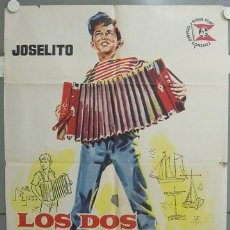 Cine: NS00 LOS DOS GOLFILLOS JOSELITO ANTONIO DEL AMO POSTER ORIGINAL 70X100 ESTRENO. Lote 25103766