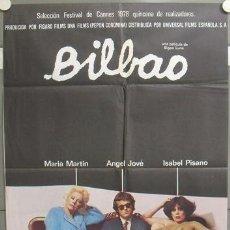 Cine: NS03 BILBAO BIGAS LUNA ISABEL PISANO POSTER ORIGINAL 70X100 ESTRENO. Lote 25111175