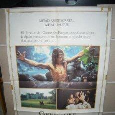 Cine: GREYSTOKE LA LEYENDA DE TARZAN REY DE LOS MONOS POSTER ORIGINAL 70X100 WW. Lote 25123298