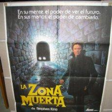 Cine: LA ZONA MUERTA DAVID CRONENBERG STEPHEN KING POSTER ORIGINAL 70X100 WW. Lote 25155618