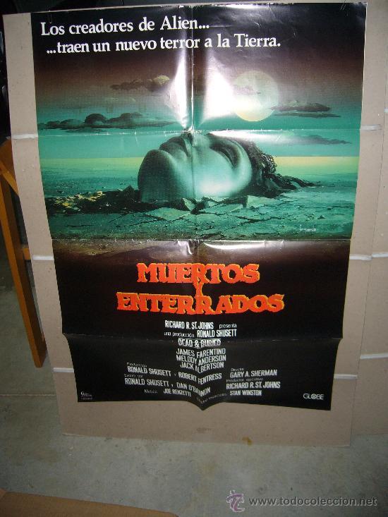 MUERTOS Y ENTERRADOS POSTER ORIGINAL 70X100 Q (Cine - Posters y Carteles - Terror)