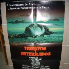 Cine: MUERTOS Y ENTERRADOS POSTER ORIGINAL 70X100 Q. Lote 25232806