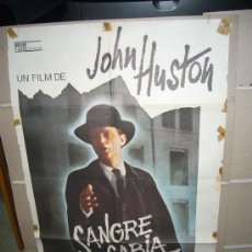 Cine: SANGRE SABIA JOHN HUSTON POSTER ORIGINAL 70X100 Q. Lote 25259930