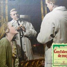 Cine: CARTEL DE CINE DE CARTÓN ANTIGUO (39 X 29 CM): CONFIDENCIAS DE UNA MUJER - JANE FONDA. Lote 25263468
