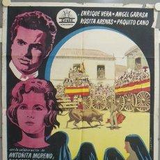 Cine: NT41 EL NIÑO DE LAS MONJAS IQUINO ENRIQUE VERA ANTOÑITA COLOME CIFESA POSTER ORIGINAL 70X100 ESTRENO. Lote 25554727