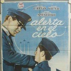 Cine: NT52 ALERTA EN EL CIELO PABLITO CALVO MAC POSTER ORIGINA 70X100 ESTRENO. Lote 25555882