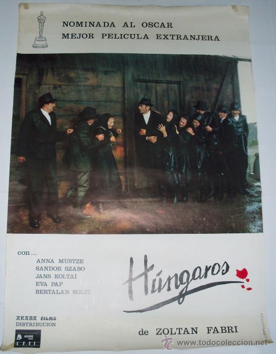 CARTEL HUNGAROS - DE ZOLTAN FABRI - 1978 (Cine- Posters y Carteles - Drama)