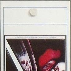 Cinema: NX06 ABSURD ROSSO SANGUE JOE D'AMATO GIALLO POSTER ORIGINAL 33X70 ITALIANO. Lote 25930590