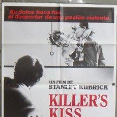 Cine: NX85 EL BESO DEL ASESINO KILLER'S KISS STANLEY KUBRICK POSTER ORIGINAL 70X100 ESTRENO. Lote 25969753