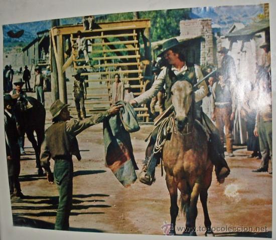 POSTER PELÍCULA DEL OESTE 50X41CM (Cine - Posters y Carteles - Westerns)