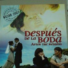 Cine: DESPUES DE LA BODA - POSTER CARTEL ORIGINAL - MADS MIKKELSEN EFTER BRYLLUPPET (AFTER THE WEDDING). Lote 26051798