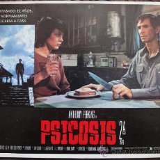 Cine: CARTEL ORIGINAL MEXICANO PSICOSIS 2 PSYCHO 2 ANTHONY PERKINS VERA MILES MEG TILLY ROBERT LOGGIA 1983. Lote 102700815