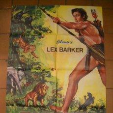 Cine: CARTEL ORIGINAL TARZAN,FURIA SALVAJE CON LEX BARKER.68X100.AÑO 1971. Lote 27588911