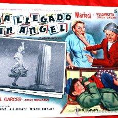Cine: HA LLEGADO UN ANGEL 1961 (LOBBY CARD ORIGINAL) MARISOL PULGARCITO ISABEL GARCES DIRECTOR LUIS LUCIA. Lote 26256116