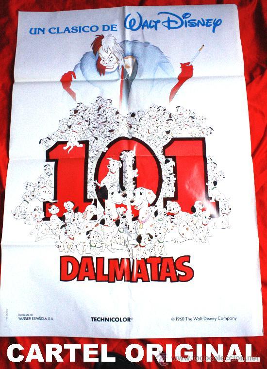 101 DALMATAS (CARTEL ORIGINAL WALT DISNEY) (Cine - Posters y Carteles - Infantil)