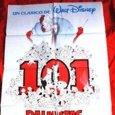 Cine: 101 DALMATAS (CARTEL ORIGINAL WALT DISNEY). Lote 26782080
