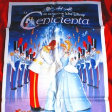 Cine: LA CENICIENTA (CARTEL ORIGINAL WALT DISNEY). Lote 26782072