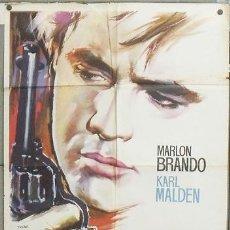 Cine: XD62D EL ROSTRO IMPENETRABLE MARLON BRANDO MAC POSTER ORIGINAL 70X100 ESTRENO. Lote 26382484