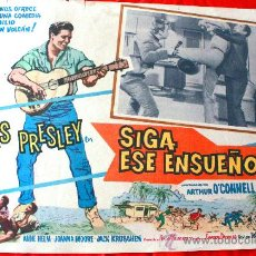 Cine: FOLLOW THAT DREAM (SIGA ESE SUEÑO) 1962 (LOBBY CARD ORIGINAL) ELVIS PRESLEY. Lote 134105706