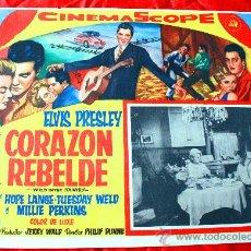 Cine: WILD IN THE COUNTRY (CORAZON REBELDE) 1961 (LOBBY CARD ORIGINAL) ELVIS PRESLEY. Lote 134105721