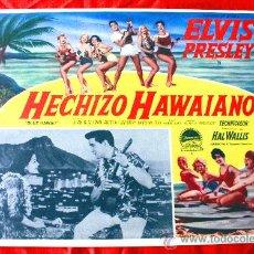 Cine: BLUE HAWAII (AMOR EN HAWAII) 1961 (LOBBY CARD ORIGINAL) ELVIS PRESLEY. Lote 134105734