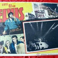 Cine: ELVIS: THAT'S THE WAY IT IS (ESTE SI ES ELVIS) 1970 (LOBBY CARD ORIGINAL) ELVIS PRESLEY. Lote 26408960
