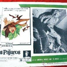 Cine: LOS PÁJAROS 1963 (LOBBY CARD ORIGINAL) ALFRED HITCHCOCK. Lote 26409066