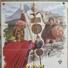 Cine: NZ54 LOS CANTABROS PAUL NASCHY PEPLUM MAC POSTER ORIGINAL 70X100 ESTRENO. Lote 293521758