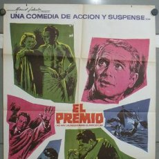 Cine: OA94 EL PREMIO PAUL NEWMAN ELKE SOMMER MAC POSTER ORIGINAL 70X100 ESPAÑOL. Lote 26664479