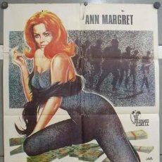 Cine: OB45 7 HOMBRES Y UN CEREBRO ANN-MARGRET POSTER ORIGINAL 70X100 ESTRENO. Lote 26701021