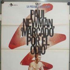 Cine: OB23 MARCADO POR EL ODIO PAUL NEWMAN BOXEO IVAN ZULUETA POSTER ORIGINAL ESPAÑOL 70X100. Lote 26698714