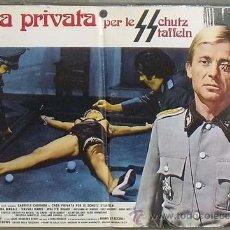 Cine: OC23 CASA PRIVADA PARA LAS SS BRUNO MATTEI SEXPLOITATION BILLAR POSTER ORIGINAL ITALIANO 47X68. Lote 35486693