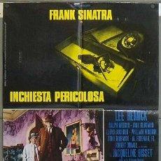 Cine: OC51 EL DETECTIVE FRANK SINATRA POSTER ORIGINAL ITALIANO 68X94. Lote 27004448