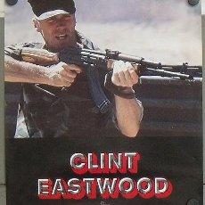Cine: E541 EL SARGENTO DE HIERRO CLINT EASTWOOD POSTER ORIGINAL ESTRENO 50X60. Lote 27153020